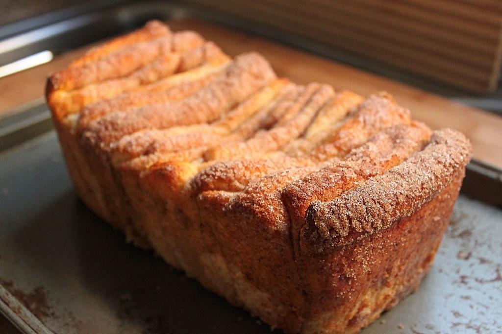 Cinnamon Bread Pull Apart 3