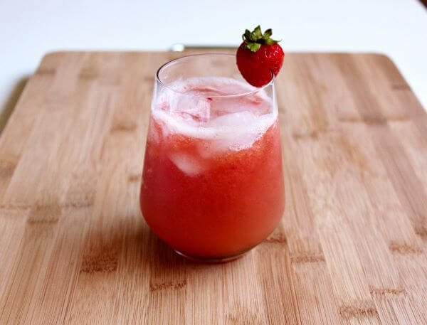 Strawberry melon juice