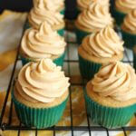 Caramel apple cupcake on wildwildwhisk.com