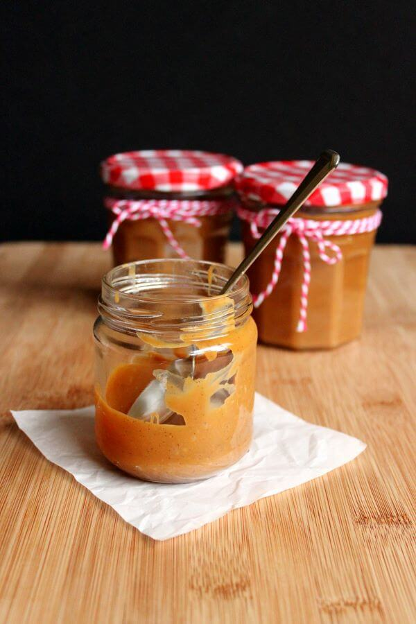 Homemade dulce de leche on wildwildwhisk.com