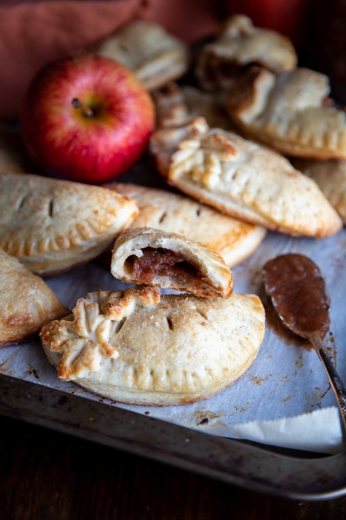 Apple Butter Empanadas | wildwildwhisk.com