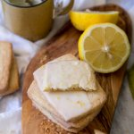Lemon Shortbread Cookies | wildwildwhisk.com