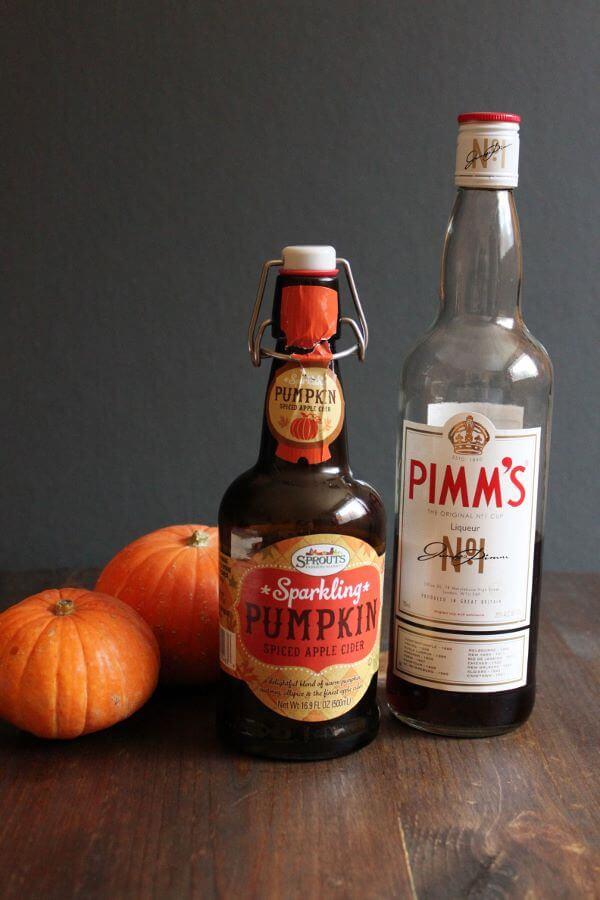 Pimmpin Pumpkin Spiced Apple Cider | wildwildwhisk.com