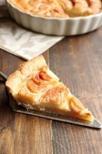 Apple Tart with Almond Paste Filling | wildwildwhisk.com