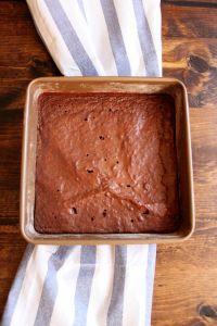 Whole Wheat Brownies | wildwildwhisk.com