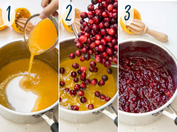 Cranberry Orange Sauce or Jelly | wildwildwhisk.com