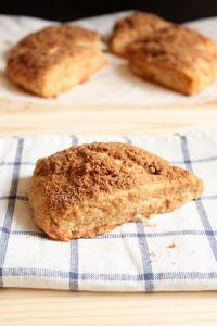 Cinnamon Streusel Scones   wildwildwhisk.com