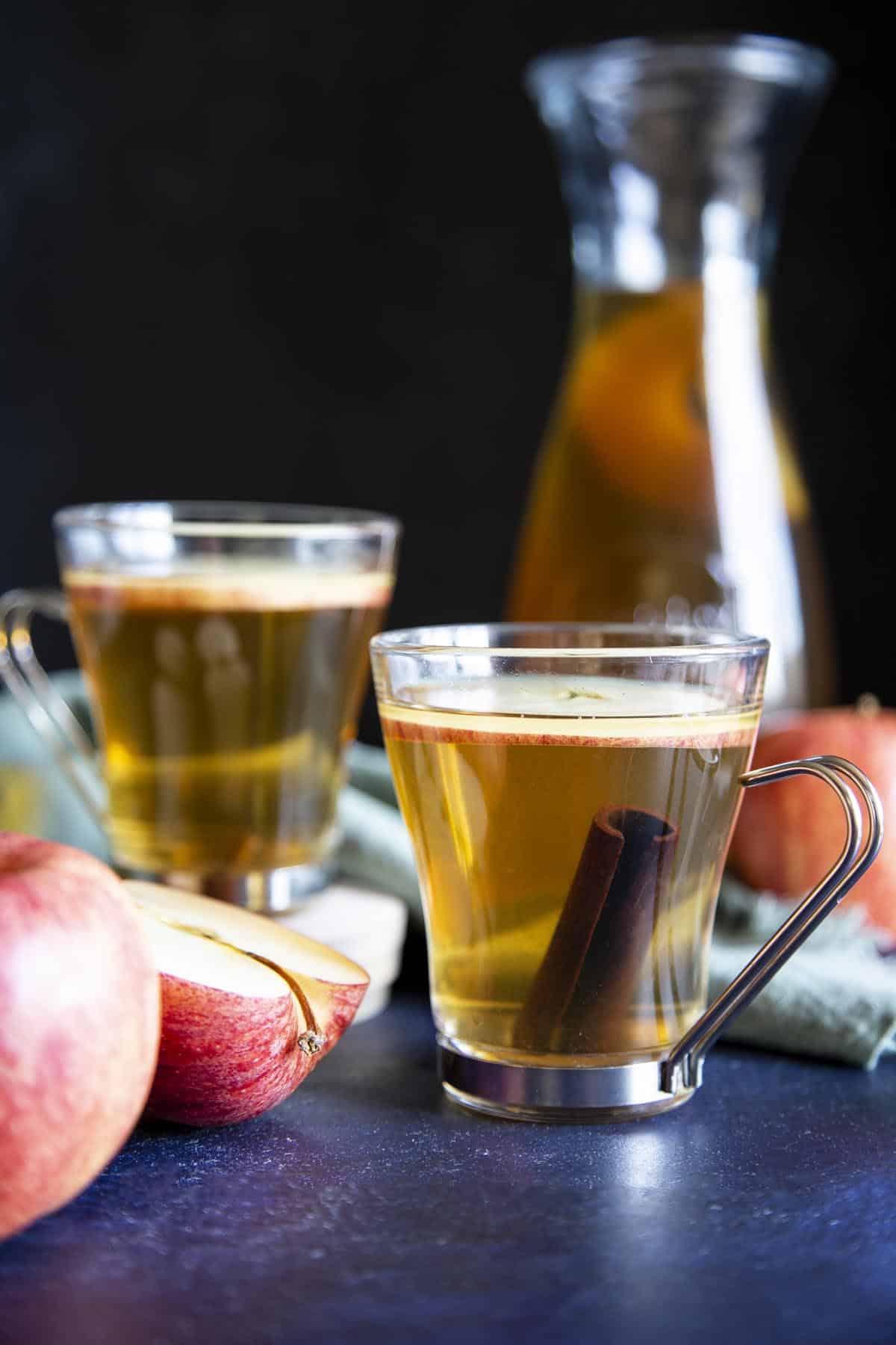 Spiced Apple Cider | wildwildwhisk.com
