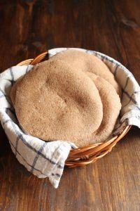 Whole Wheat Pita Bread | wildwildwhisk.com