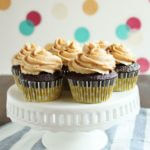 Chocolate Peanut Butter Cup Cake | wildwildwhisk.com