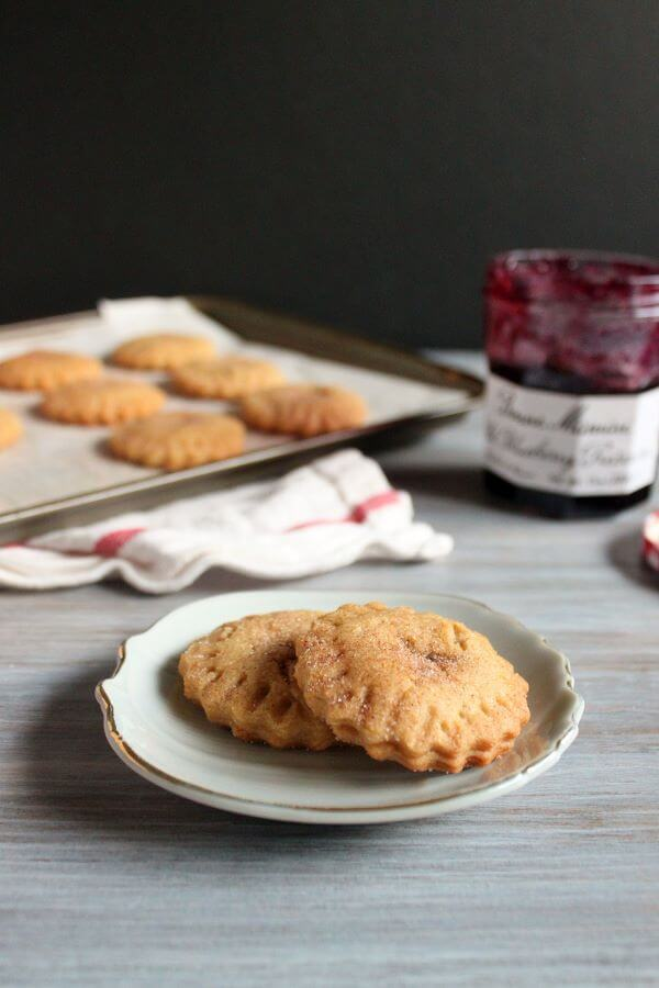 Peanut Butter and Jelly Cookies | wildwildwhisk.com