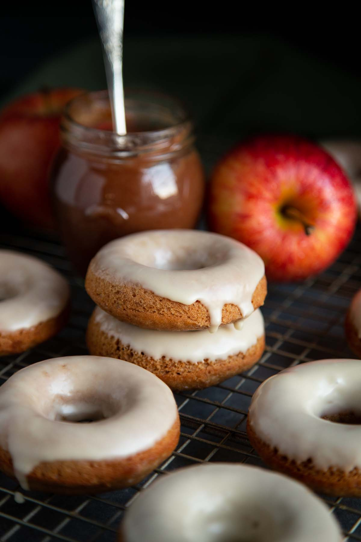 Baked Apple Donuts Wild Wild Whisk