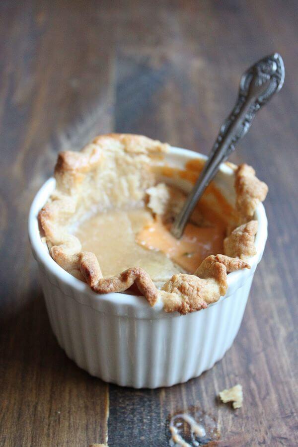Lobster Bisque Pot Pie | wildwildwhisk.com