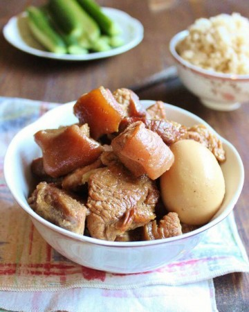 Vietnamese Braised Pork with Egg | wildwildwhisk.com