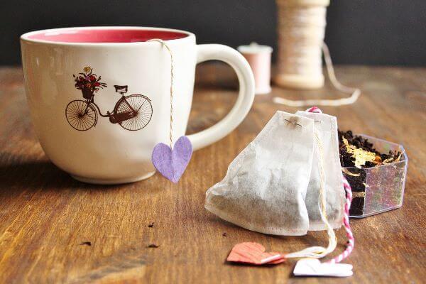 DIY Loose Leaf Tea Bag   wildwildwhisk.com