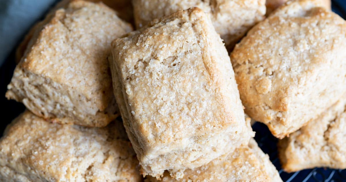 Honey Whole Wheat Biscuits | wildwildwhisk.com