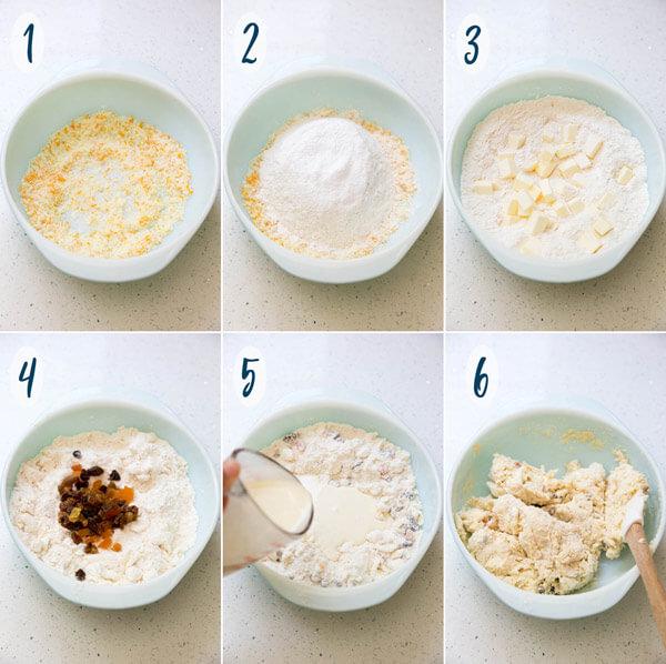 Orange Cream Scones   wildwildwhisk.com