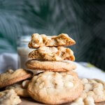White Chocolate Macadamia Nut Cookies - these cookies are soft, slightly chewy, slightly crunchy, creamy and nutty all packed into a few bites. In other words, the perfect cookie recipe!   wildwildwhisk.com