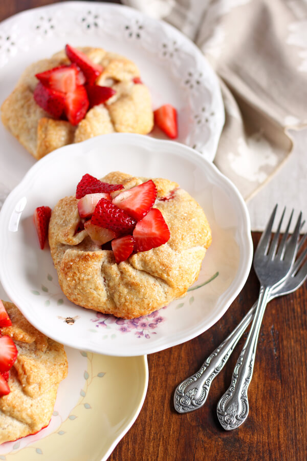 Strawberry Galettes