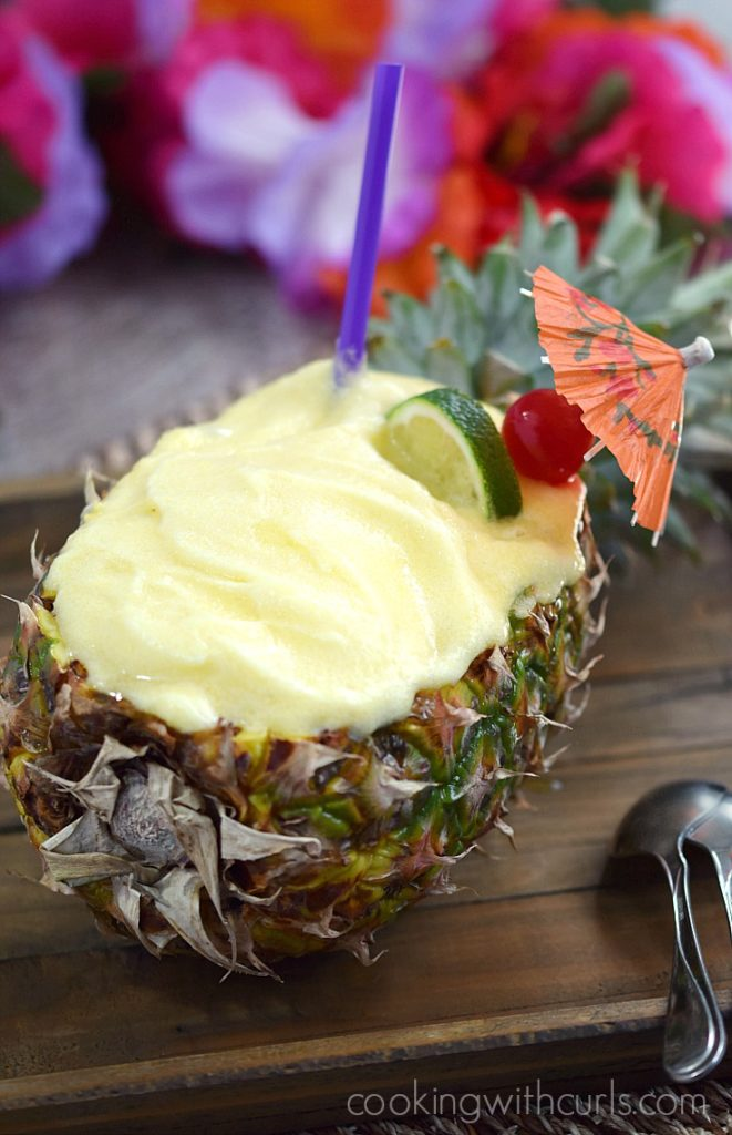 20 tropical recipes that will bring the tropics to you this summer! | wildwildwhisk.com