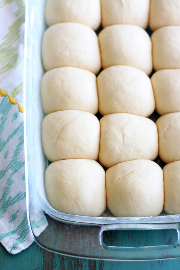 These homemade Hawaiian Dinner Rolls are soft and sweet, baked until golden brown. They are a wonderful addition to any meal! | wildwildwhisk.com
