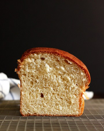 A basic Brioche Loaf is perfect for elevating an everyday lunch sandwich, and for making out-of-this-world French toast or bread pudding.  | wildwildwhisk.com
