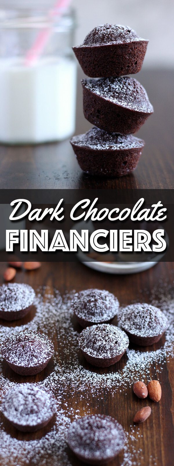 Dark Chocolate Financiers - Wild Wild Whisk