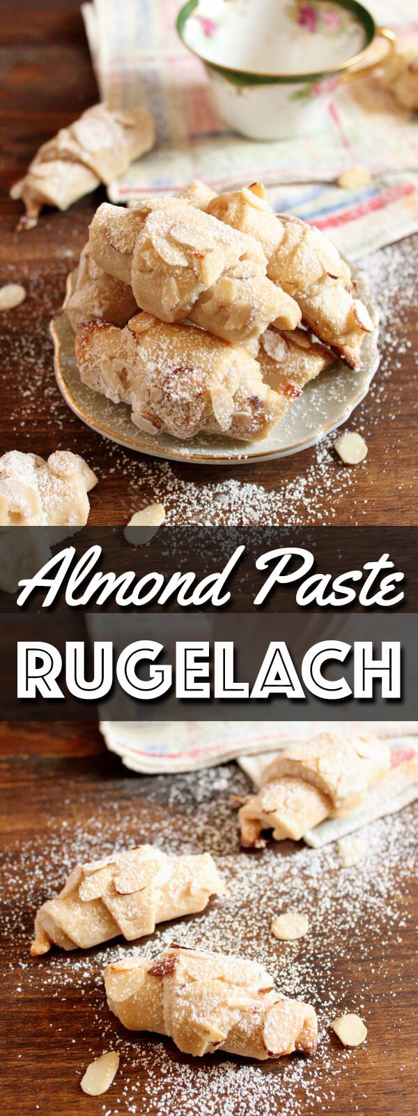 Almond Paste Rugelach long pin collage