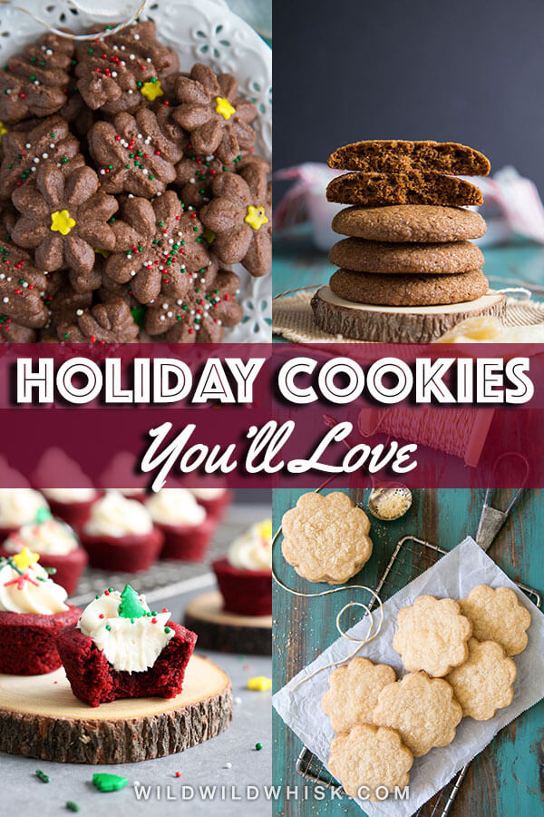 A holiday cookie roundup with 10 fantastic and mailable cookies along with some tips on how to choose, pack and ship these delicious treats. | wildwildwhisk.com