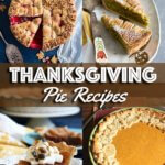 A collage of Thanksgiving pie recipes