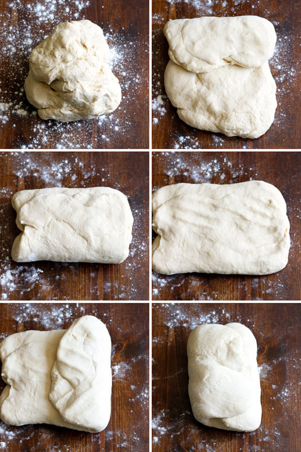 How to make croissant - Preparing croissant dough for first rise