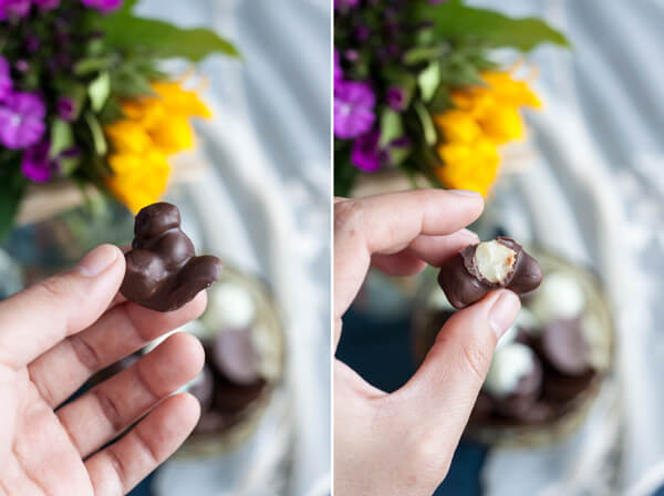 How to make Chocolate Covered Macadamia Nuts without a candy mold