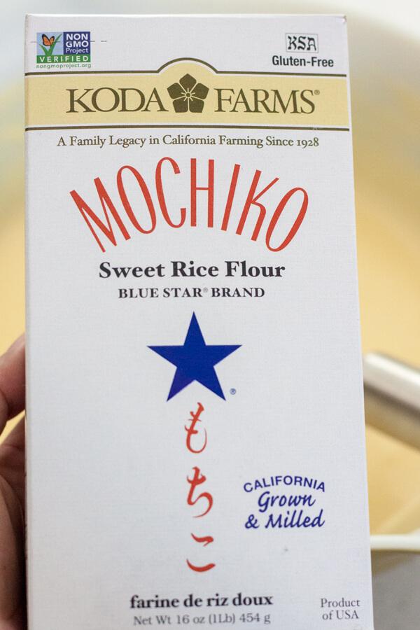 Using Mochiko to make Hawaiian Butter Mochi