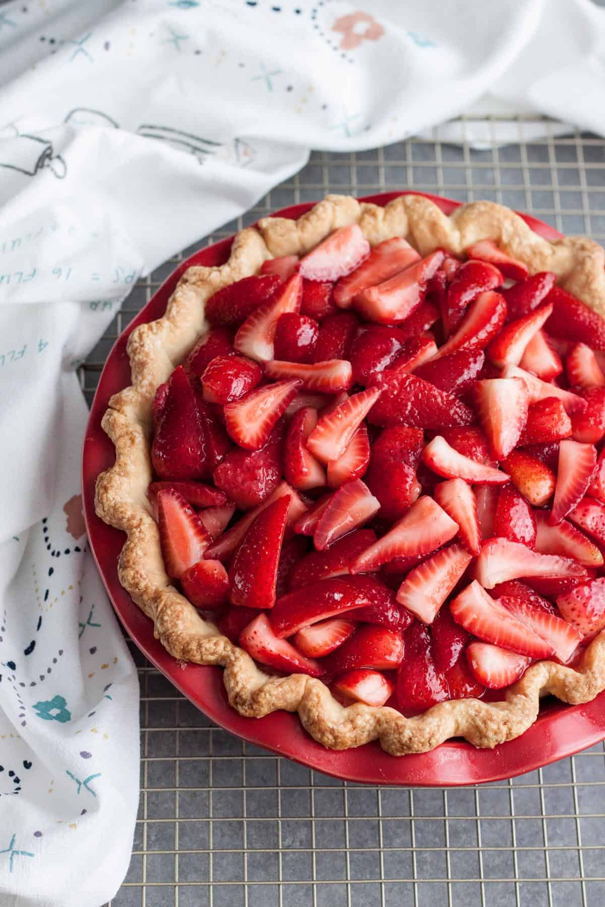 How to make Strawberry and Cream Pie