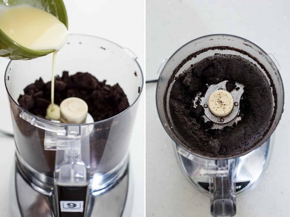 How to make Oreo Cookie Pie Crust
