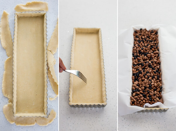 How to make Strawberry Rose Tart crust