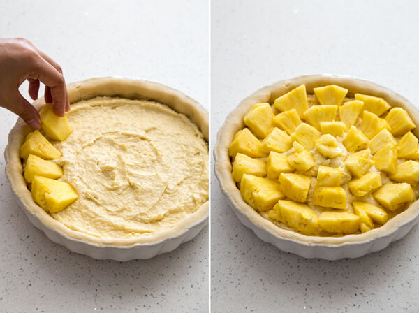 How to make Pineapple Coconut Frangipane Tart