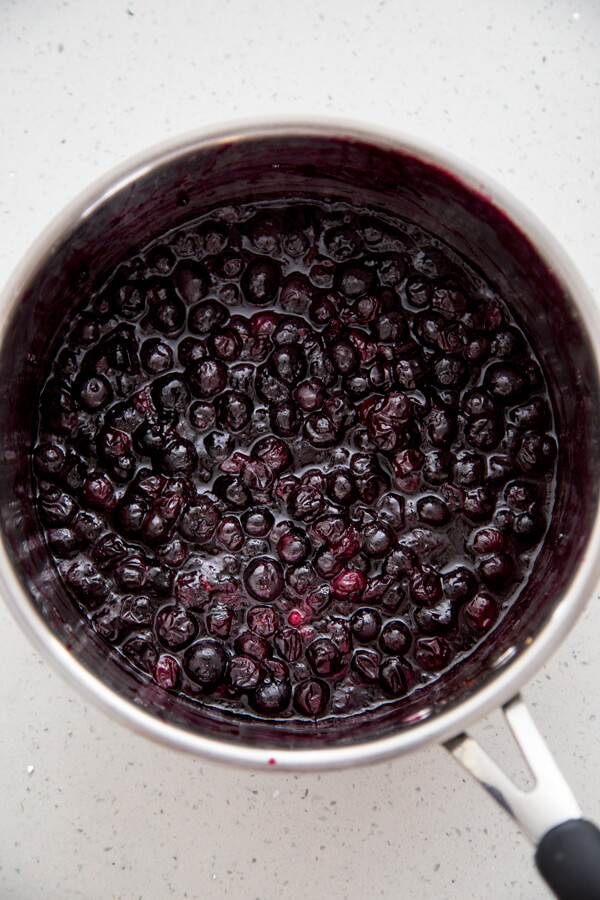 How to make Blueberry Compote