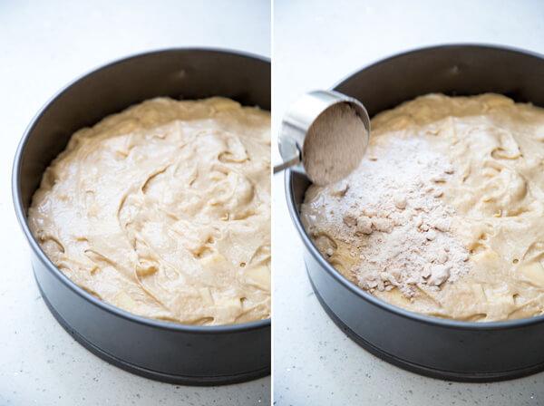 How to make Cardamom Apple Coffee Cake