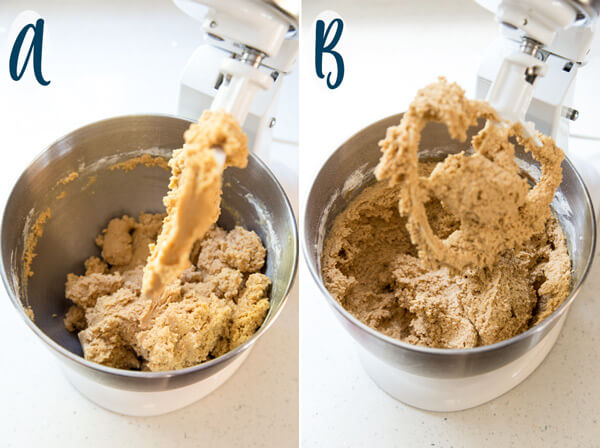 Comparing two batches of cookie dough