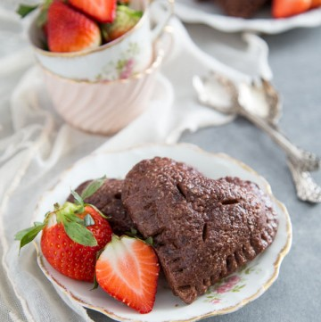Chocolate Strawberry Hand Pies