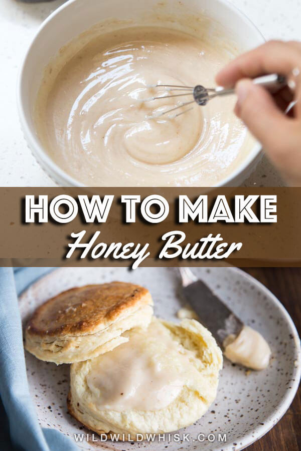 Honey butter pin image
